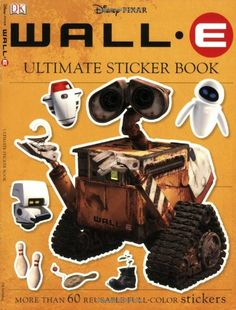 Ultimate Sticker Book: Wall-E (Ultimate Sticker Books) @ niftywarehouse.com