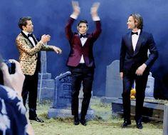I love how Jensen just hits Jared