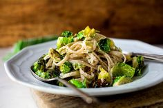 Gluten Free Fettucine with Brussels Sprouts, Lemon and Ricotta - NYTimes.com