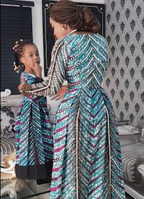Ankara Xclusive: Mother And Daughter Ankara styles In Latest Fashion Trends