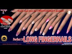 Perfect 10 Long Fingernails Content Pack for iClone (+playlist)