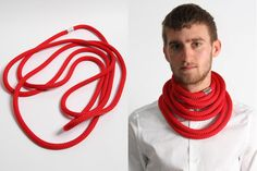 Florian Ladstaetter, Rope Necklace.