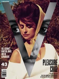 V Magazine - Penelope Cruz // Magazine cover inspiration