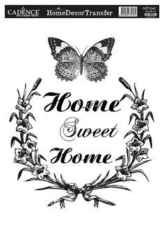Papier - Home Dekor Transfer - Decoupage Vintage, Decoupage Paper, Vintage Paper, Wax Paper Transfers, Transfer Paper, Vinyl Crafts, Paper Crafts, Stencils, Etiquette Vintage