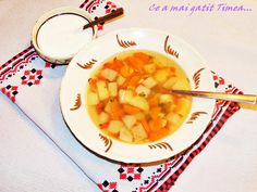 Ciorba de legume cu bors Romanian Food, Vegan Foods, Fruit, Travel, Trips, Viajes, Traveling, Outdoor Travel, Tourism