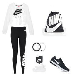 Nike by alexis-schell-parchem on Polyvore featuring polyvore, NIKE, Lokai, fashion, style and clothing