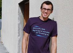 Haiku T-Shirt from snorgtees.com. (No, I'm not getting paid for promoting them! I just think they have some hilarious t-shirts, and I thought I'd share.)
