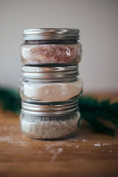 handmade gifts: soaking salts and milk baths - calivintage