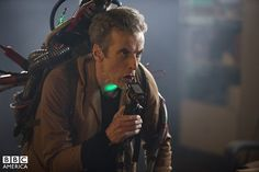 Capaldi Channels His Inner Ghostbuster in New Image from The Caretaker  Doctor Who Sci-fi Series Fantasy Cult Tv Series Meme