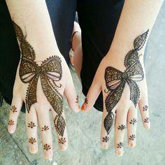 Ribbon henna