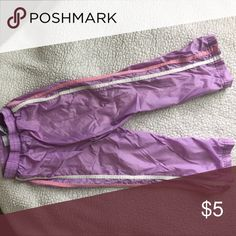 Snow Pants Fleece lined snow pants, toddler size 4T. Used condition, no holes, tears or stains. Bottoms Casual
