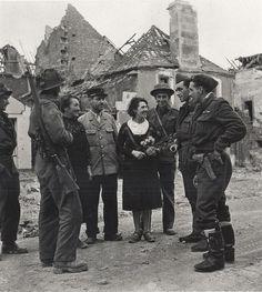 Caen, july 1944.