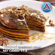 We've got breakfast sorted with our Sweet Potato Pancakes with Caramel Walnut Topping. They are gluten free, paleo friendly and absolutely delicious! Ingredients cup well cooked sweet potato, skin on or off 2 eggs tsp ground cinnamon …Read Atkins Recipes, Low Carb Recipes, Easy Recipes, Vegan Recipes, Free Recipes, Beauty And Beauty, Pumpkin Spice Pancakes, Sweet Potato Pancakes, Breakfast
