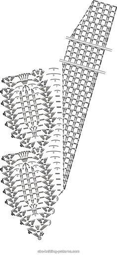 ABC Knitting Patterns - Tulip Reverie Shawl