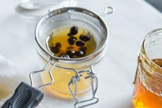 How to Infuse Honey 2 coffee bean