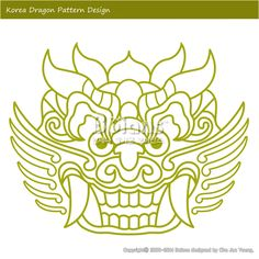 한국의 용 문양 패턴디자인. 한국 전통문양 패턴 디자인 시리즈. (BPTD010015) Korea Dragon Pattern Design. Korean traditional Pattern Design Series. Copyrightⓒ2000-2014 Boians.com designed by Cho Joo Young.