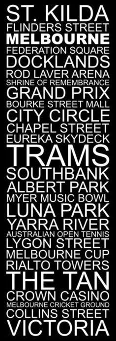 places to go - Melbourne Places In Melbourne, Melbourne Girl, Melbourne Travel, Melbourne Cup, Melbourne Victoria, Victoria Australia, Melbourne Australia, Brisbane, Australian Open Tennis