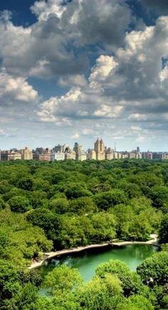 Central Park in New York, U.S