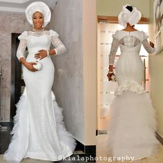 Absolutely Stunning: Bride Shares her 11th Wedding Anniversary with her Bridesmaids in Style - Wedding Digest Naija
