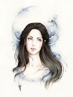 Arwen drawing