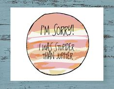 Items similar to I'm Sorry Card on Etsy Homemade Anniversary Gifts, Boyfriend Anniversary Gifts, Boyfriend Gifts, Im Sorry Gifts, Im Sorry Cards, Funny Cards, Cute Cards, Diy Cards, Apology Letter To Friend