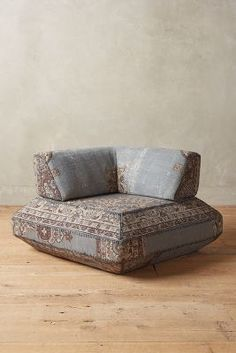 Anthropologie Souk Modular Corner Chair