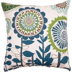 Spira Solros Blue Cushion