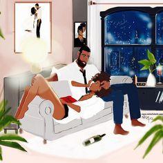 5 Top African Fashions for Men – Designer Fashion Tips Black Couple Art, Black Girl Art, Art Girl, African American Art, African Art, Books And Tea, Bd Art, Japon Illustration, Black Art Pictures