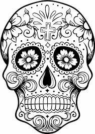 Risultati immagini per sugar skull
