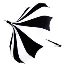 I think these are the coolest looking umbrellas!!  I love this design and you can get the handles different colors.
