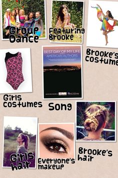 Group dance featuring Brooke. It's about her following her dreams and joining cirque du soleil. @Eva Koninckx Batten ✔