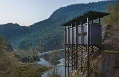 Peter Zumthor's zinc mine museum in Norway
