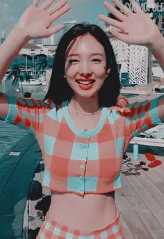 Find images and videos about cute, gif and twice on We Heart It - the app to get lost in what you love. Pretty Korean Girls, Cute Korean Girl, South Korean Girls, Asian Girl, Kpop Girl Groups, Korean Girl Groups, Kpop Girls, Chaeyoung Twice, Nayeon Twice
