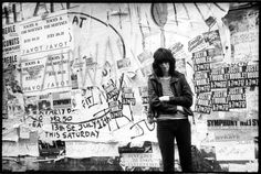 "theimpossiblecool: """"All punk is is attitude. That's what makes it. The attitude."" Joey Ramone. """