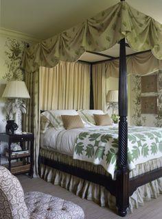 Alex Papachristidis...bedroom decor.