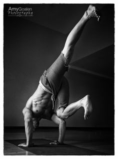 "A selection from ""Inside the Warrior - the Masculine Side of Yoga."" Pictured here is Mark Brown at The Yoga Loft. ©AmyGoalenPhotography #yoga #yogamen #yogadudes #fitness"