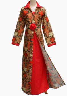 baju batik kombinasi polos – Model Baju Batik