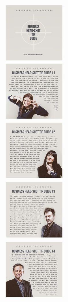 DREIBELBIS + FAIRWEATHER: Business Head-Shot Tip Guide - photography