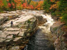 White Mountains NH, fall foliage