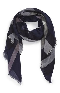 Women's Burberry Brit Sheer Mega Check Scarf