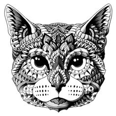 BIOWORKZ is a Graphic Artist and Freelance Illustrator providing professional artwork, designs, and illustrations. Dog Coloring Page, Animal Coloring Pages, Colouring, Adult Coloring, Cute Small Animals, Cat Mandala, Zentangle Drawings, Zentangles, Freelance Illustrator
