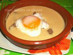 Cinco sentidos na cozinha: Bife de vitela com molho tipo Portugália