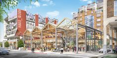 City Planning Commission Backs Arts District Mixed-Use Campus Mixed Use Development, Los Angeles Neighborhoods, Residential Complex, Adaptive Reuse, Building Design, Commercial, Urban Design, Santa Fe, Thesis
