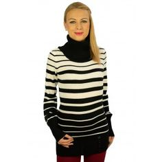 Smart Striped Jumper - Moda