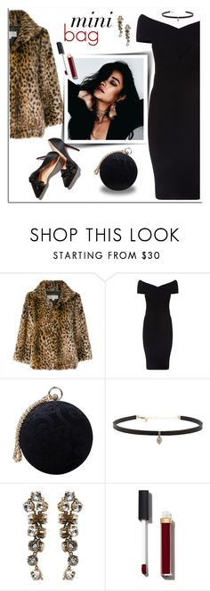 """""""Mini Bag, S. Mitchell"""" by mk-style ❤ liked on Polyvore featuring MICHAEL Michael Kors, Maje, Carvela, Carbon & Hyde, Balenciaga and Chanel"""