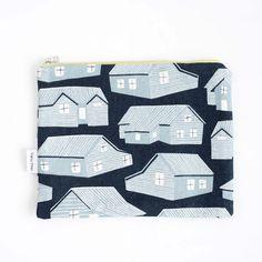 'Houses' XL clutch - Rosie Moss