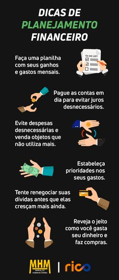 Como fazer um planejamento financeiro e uma Planilha de Orçamento Pessoal Business Model Canvas, Making Life Easier, Public, Budgeting Finances, Financial Tips, Life Organization, Business Planning, Digital Marketing, Saving Money