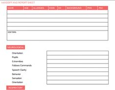 Nurse report sheet, Nurse, Nursing assistant, School resources, Sheet, Nrsng - Download our free database of 33 Nursing Brain Sheet Templates  Stay organized on the clinical floor and nursing report s -  #Nursereport #sheet