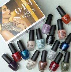 OPI Venice Collection Review Swatches OPI Fall/Winter 2015 Collection