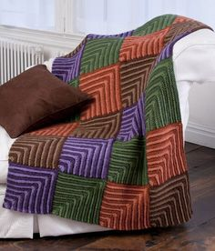 Maxi Miters Afghan - I will be making this soon <3  {found through crochetpatterncentral.com - my fav crochet pattern website}